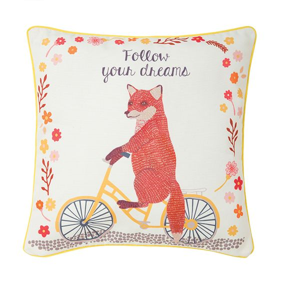coussin fox